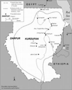 Mahdist State Map