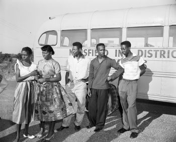 Mansfield Texas School Desegregation Incident 1955 1965