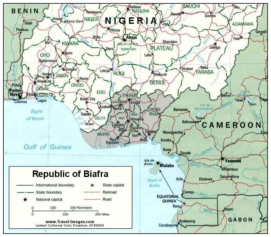 Republic of Biafra (1967-1970) • BlackPast
