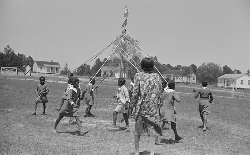 Maypole Festivity, Alabama, 1939