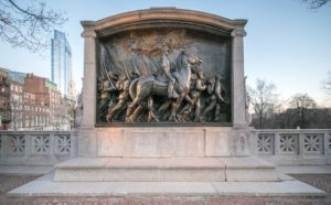 Memorial to Robert Gould Shaw and the Men of the 54th Massachusetts Infantry in Boston (National Park Service)