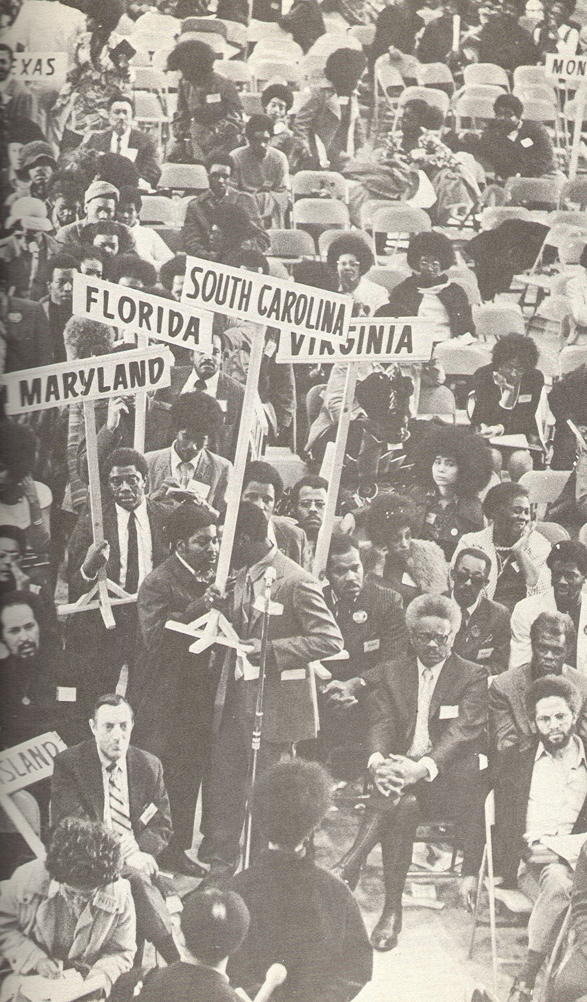 Delegates at the National Black Political Convention