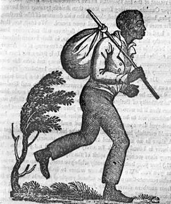 Fugitive slave, The Anti-Slavery Record (New York), July 1837