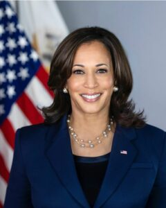Official White House Portrait of Kamala Harris, Vice President of the United States