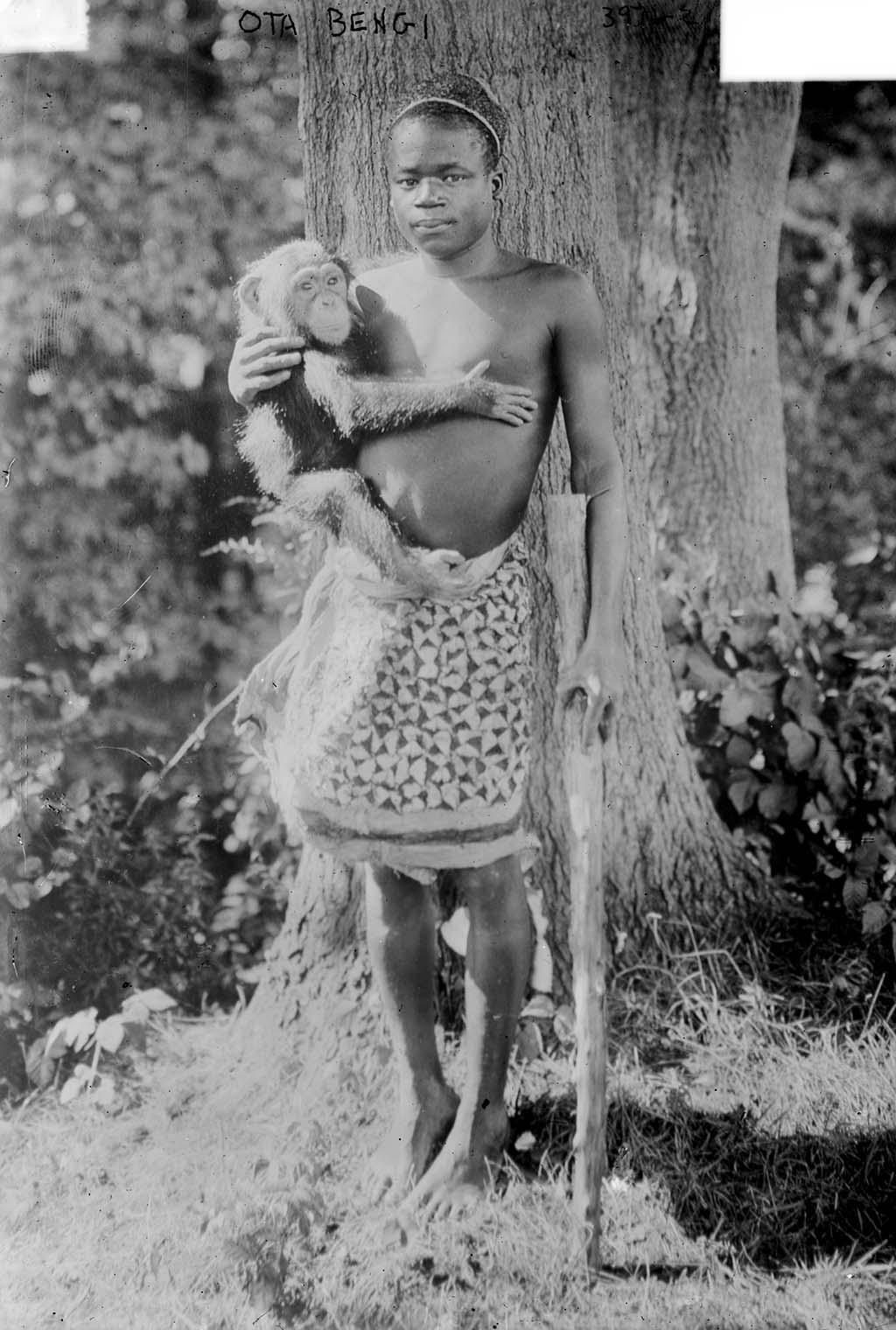 Ota Benga (1883-1916) •