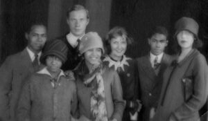 Percy Chen (far left) with Siblings and Friend Taken in Russia, 1927