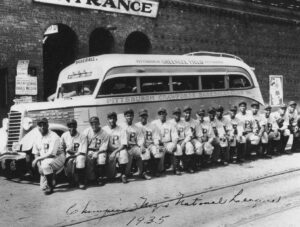 Pittsburgh Crawfords, 1935, Including Oscar Charleston, Judy Johnson, Cool Papa Bell, Josh Gibson & Satchel Paige