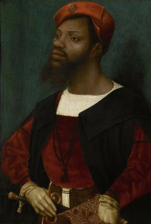 Jan Mostaert S Portrait Of A Moor 1520 1530 The Black