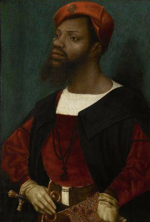 Jan Mostaert S Portrait Of A Moor 1520 1530 The Black