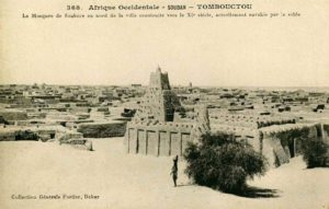 Postcard Showing Sankore Mosque and University, 1905