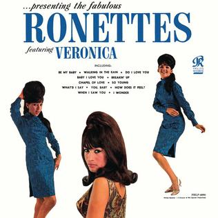 Presenting the Fabulous Ronettes--Album Cover 1966
