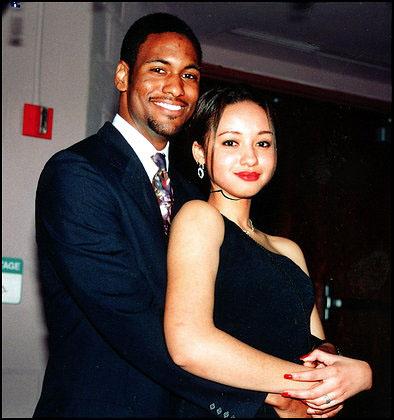 Prince Jones and fiancée Candance Carson