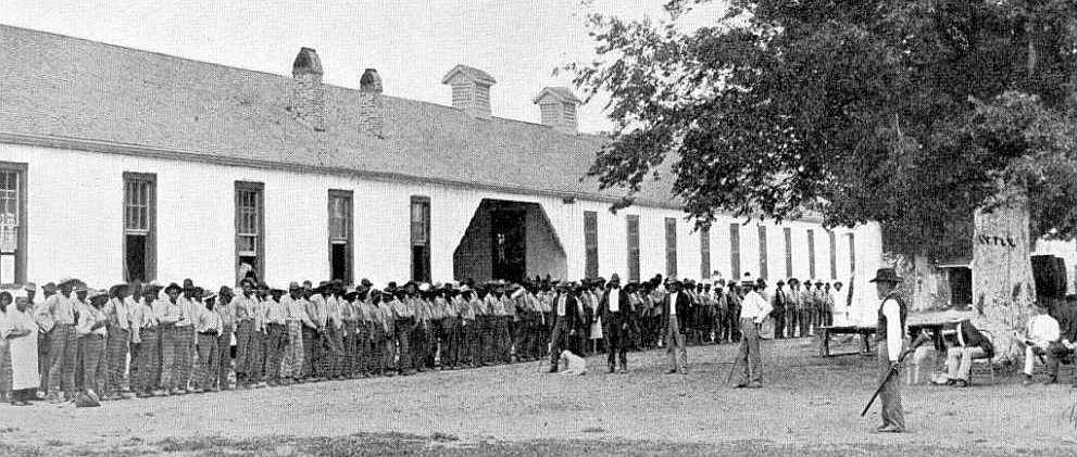 Quarters C at the Louisiana State Penitentiary, circa 1901
