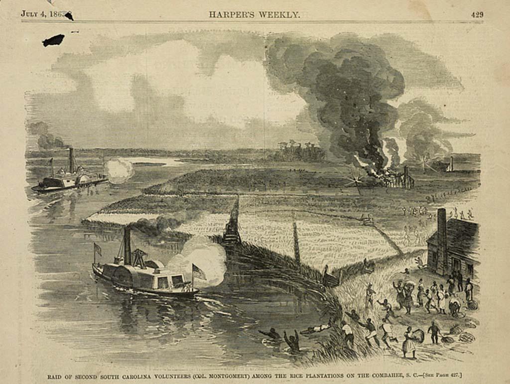 Raid of Second South Carolina Volunteers/ Combahee