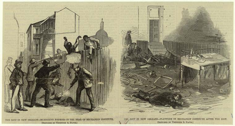 New Orleans Massacre, 1866