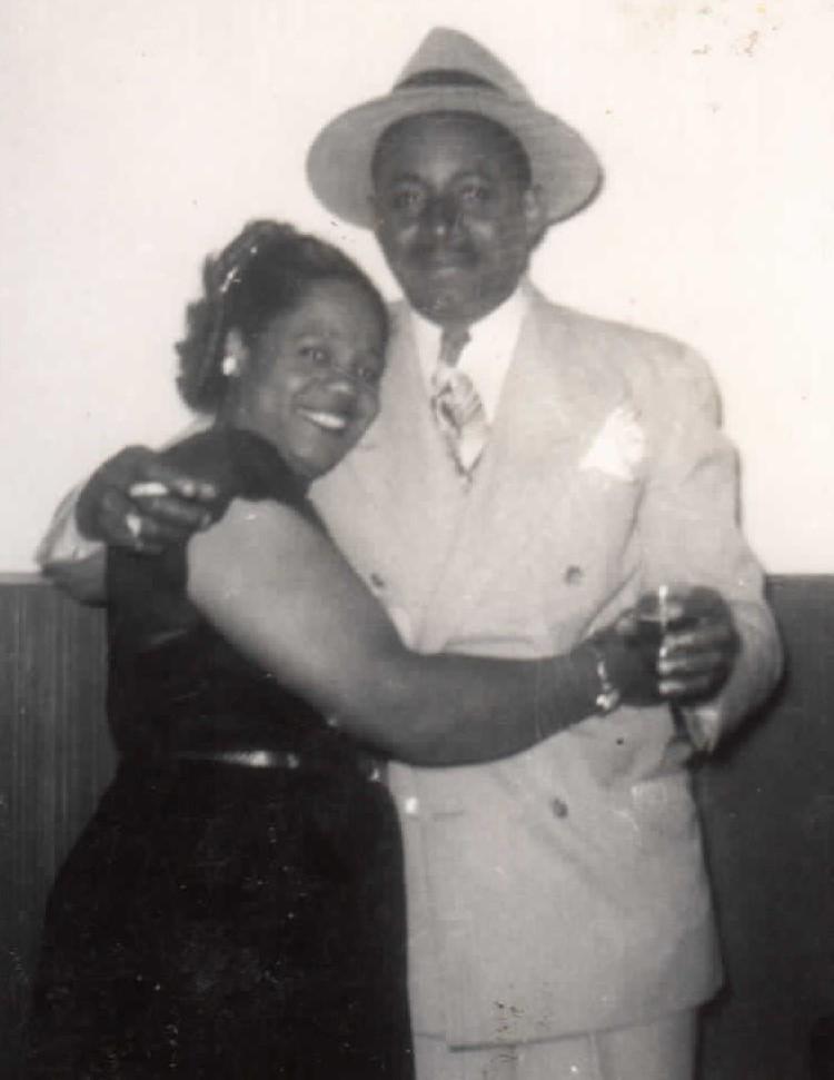Robert and Beatrice Coleman, 1945