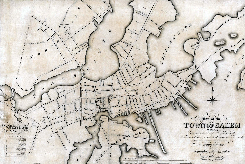 Salem, Massachusetts, 1820
