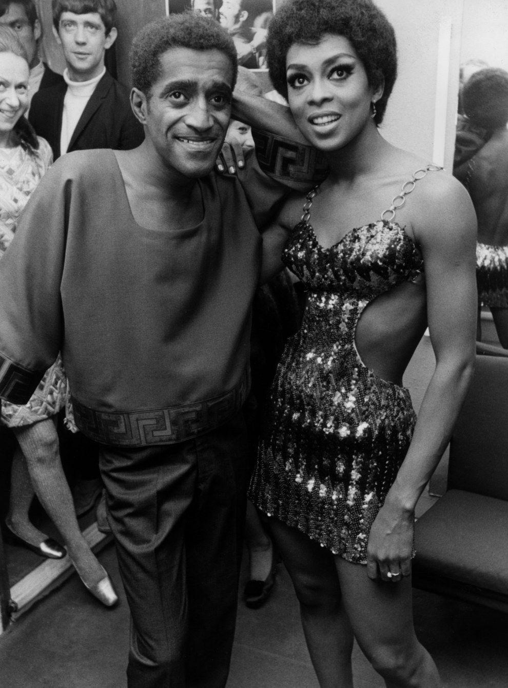 Sammy Davis Jr. and Lola Falana