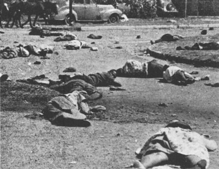 an analysis of protest against government in sharpeville Protest against injustice on march 21, 1960, in the township of sharpeville, south africa,  the government and the anc held the first convention for a democratic.