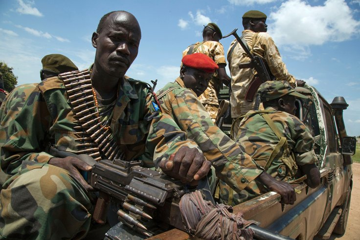 South Sudan Conflict (Soldiers of the Sudan People Liberation Army) (Albert Gonzalez Farran)