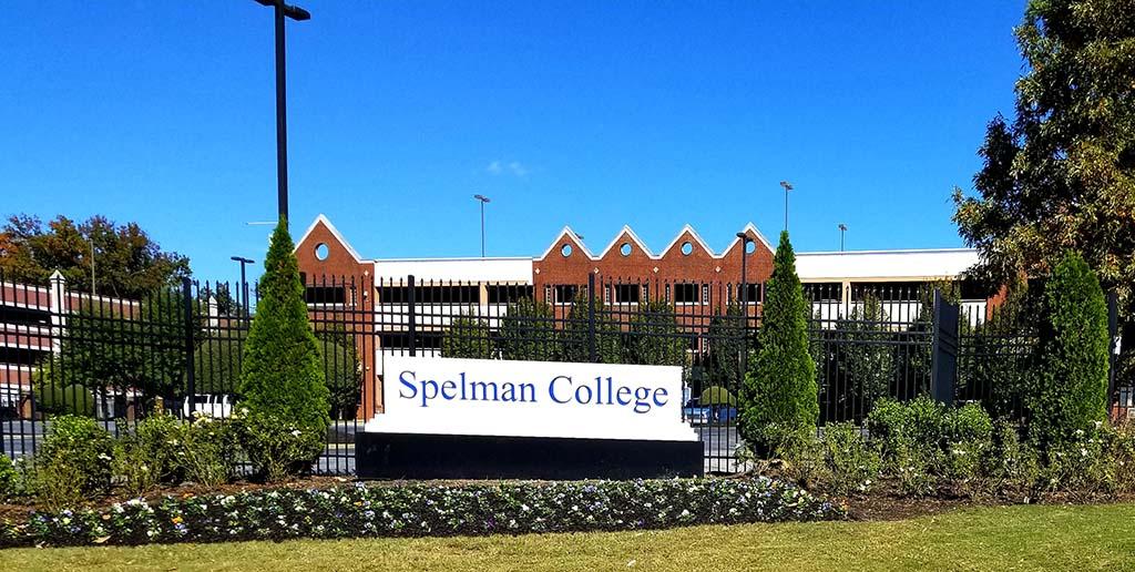 Spelman College Sign