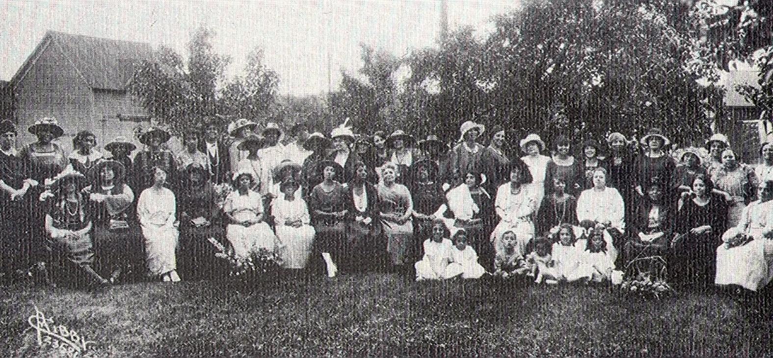 Spokane Club, 1917, Washington State Federation of Colored Women's Clubs
