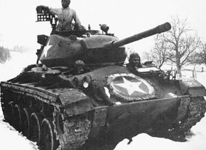 Tank from 761st Tank Batallion