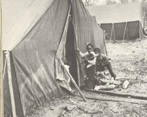 Tent City, Haywood County, Tn., 1960 (Ebony)