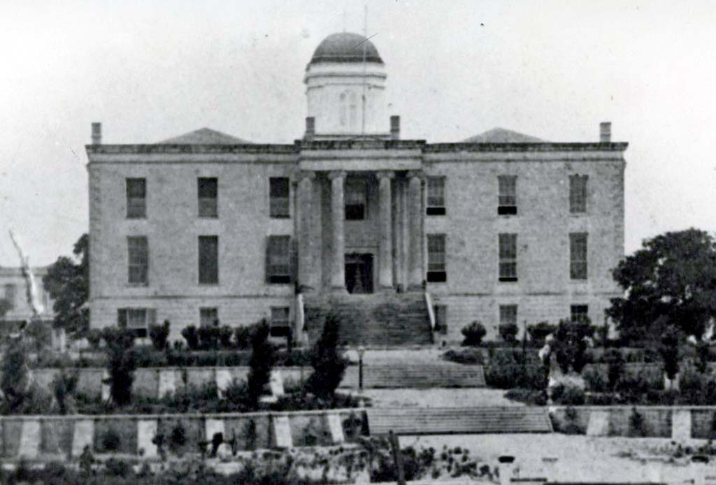 Texas State Capitol from 1853-1881