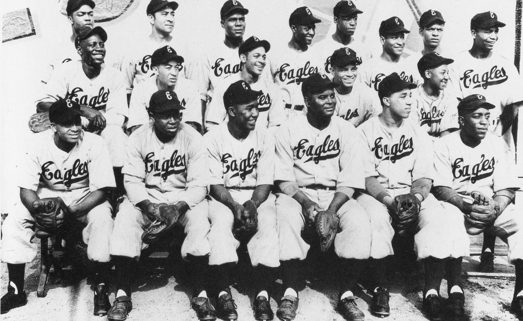 The 1946 Newark Eagles Including Monte Irvin and Larry Doby