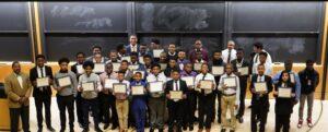 Graduates of the Role Models for Manhood Program, Mu Boulé (Northern New Jersey), February 23, 2020 on the Campus of Princeton University