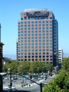 The Mercury News Was Headquartered in the Knight-Ridder Building, 1998-2006