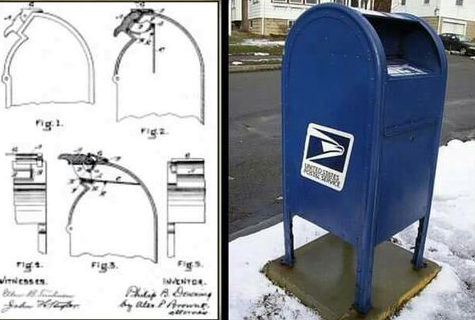 The Modern Mailbox Was invented By Philip B. Downing