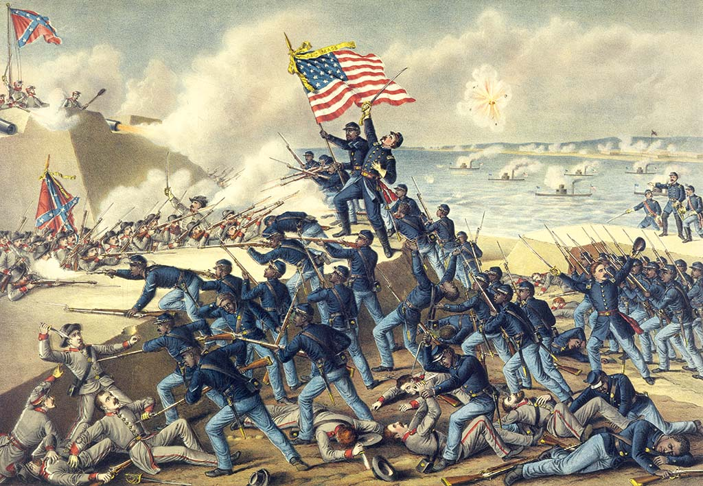 The Storming of Fort Wagner, July 18, 1863