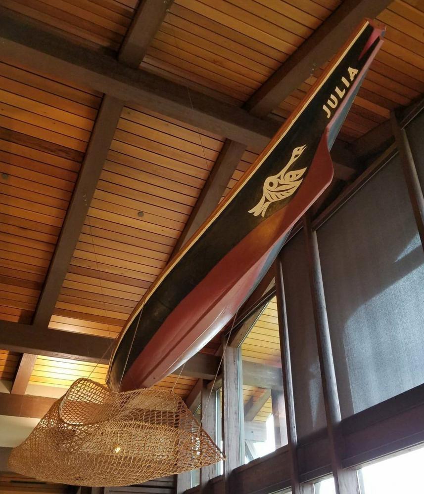 The Julia Canoe, Suquamish Clearwater Casino Resort