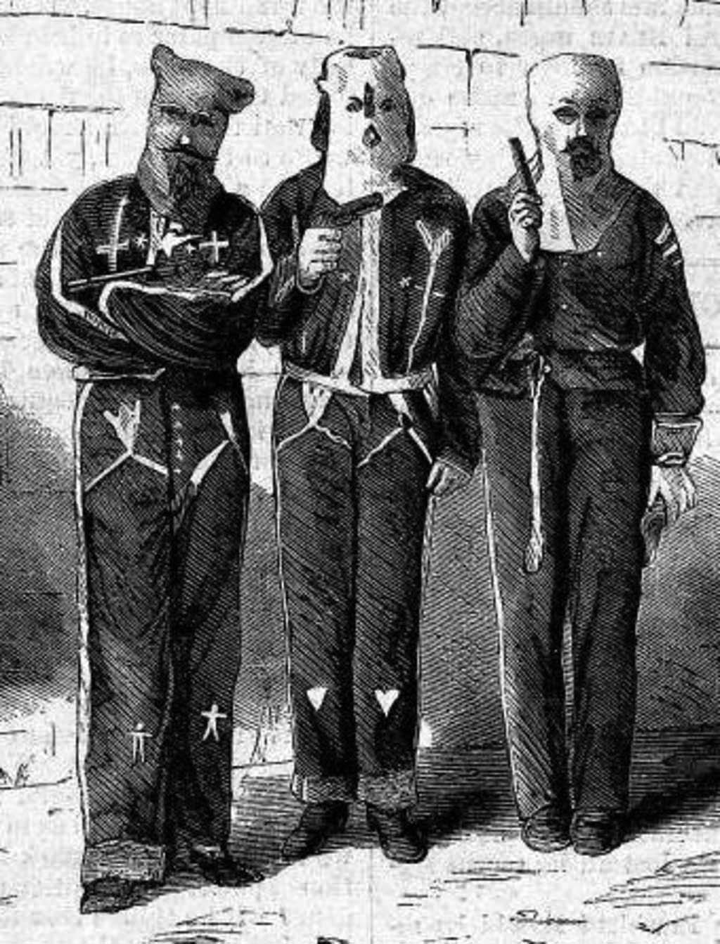 Three Tishomingo County, Mississippi Ku Klux Klan Members (Wikipedia)