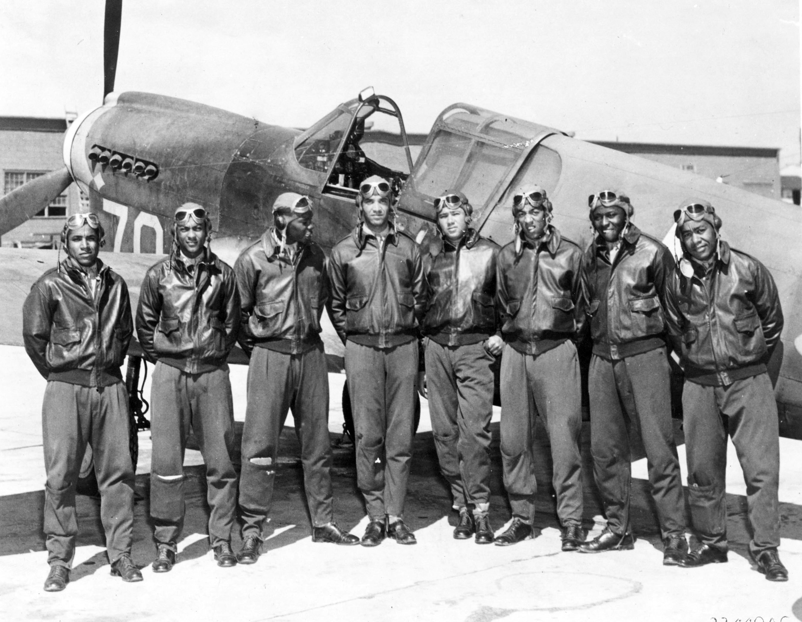 Tuskegee Airmen, ca. 1943