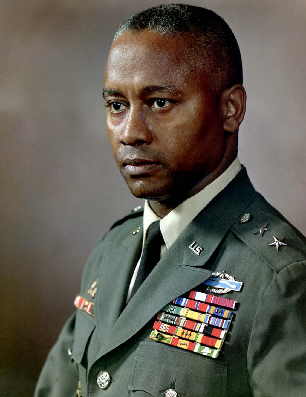 US Major General Frederic Davison, January 06, 1991
