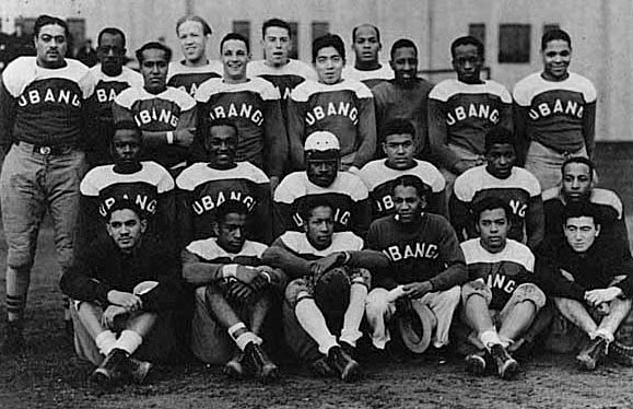 Ubangi football team, Seattle, ca. 1937