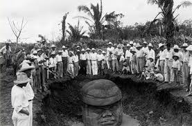 Uncovering the Olmec Heads of Mexico, 1938