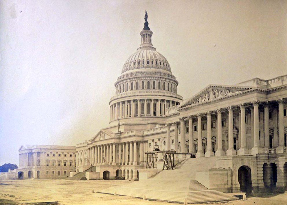 United States Capitol Building by William Bell, July 1867