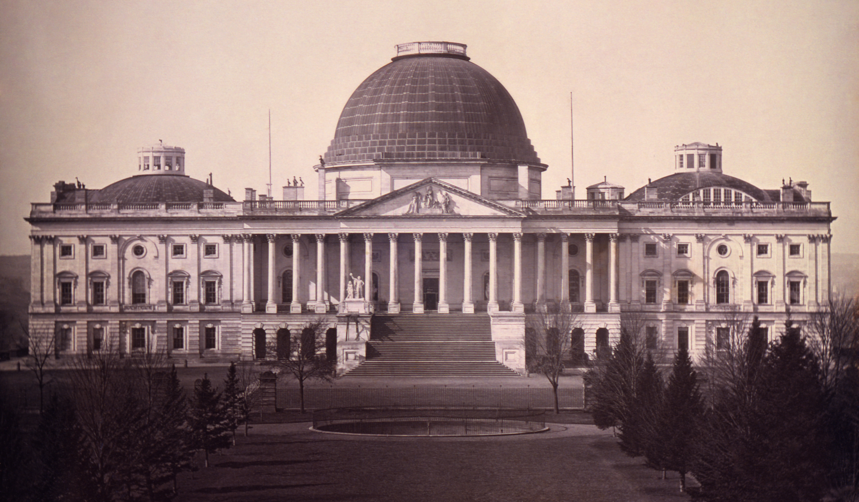 United States Capitol, Washington, D.C., 1846