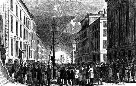 Wall Street, October 14, 1857