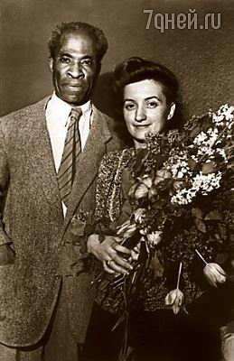 Wayland Rudd and His Wife, Lolita Marksiti in Moscow, 1930