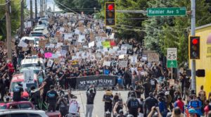 We Want to Live Rally, Seattle, June 7, 2020
