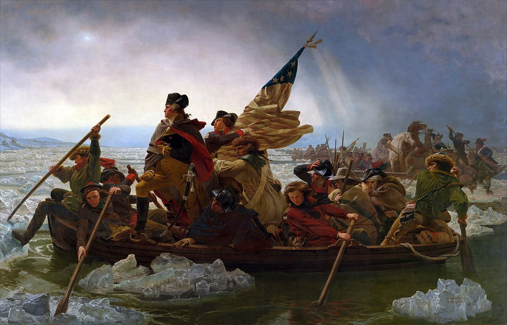 William Lee With Washington Crossing the Delaware