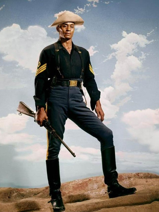 Woody Strode as Sgt. Rutledge, 1960