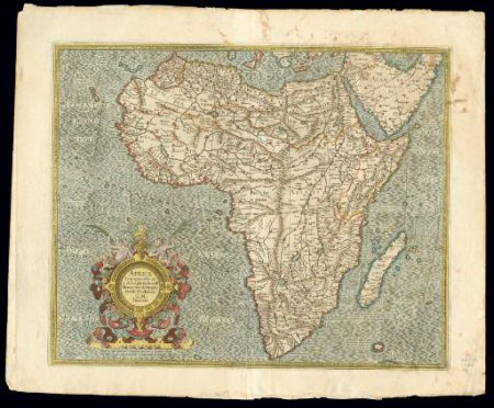 Africa in 1595 as Known to Italian Explorers and Cartographers