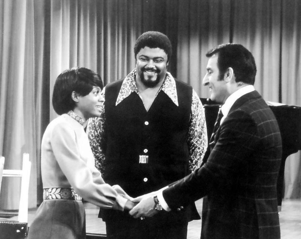 Diana Ross, Roosevelt Grier and Danny Thomas on Make Room for Granddaddy