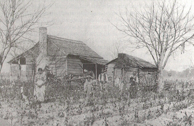 Sharecroppers in the Post-Civil War South